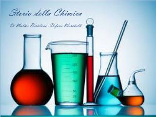 Storia della Chimica