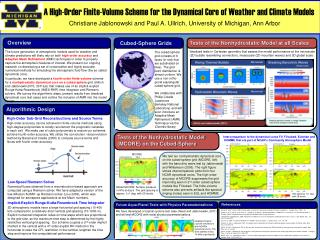 A  High-Order Finite-Volume Scheme for the Dynamical Core  of Weather  and Climate Models