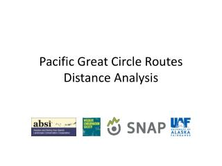 Pacific Great Circle Routes Distance Analysis