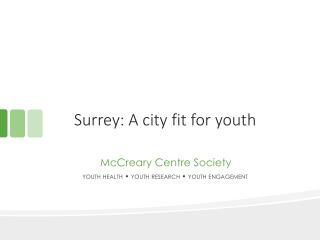 Surrey: A city fit for youth