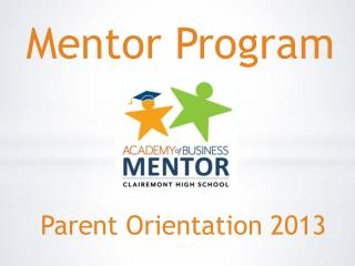Parent Orientation 2013