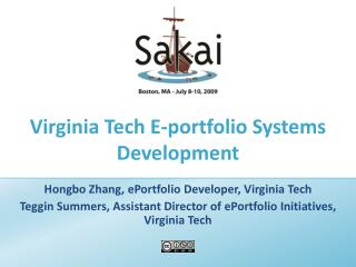 Virginia Tech E-portfolio Systems Development