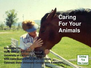 Caring For Your Animals