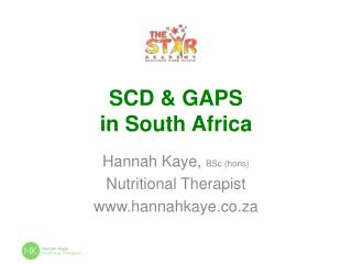 SCD & GAPS in South Africa
