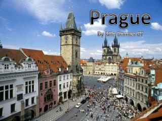 Prague By Mia Barnes 6T