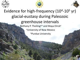 Evidence for high-frequency (10 4 -10 5  yr) glacial-eustasy during Paleozoic greenhouse intervals