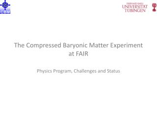 The Compressed Baryonic Matter Experiment at FAIR