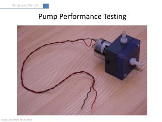 Pump Performance Testing