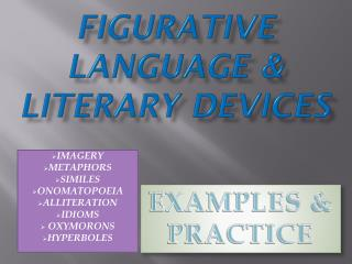 Figurative Language & Literary Devices