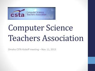 Computer Science Teachers Association