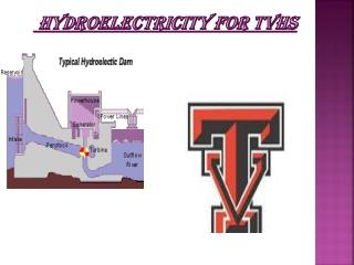 Hydroelectricity For TVHS
