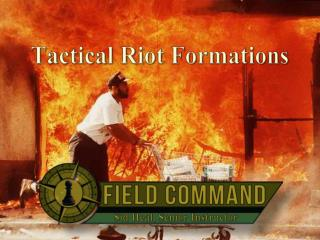 Tactical Riot Formations
