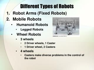 Different Types of Robots