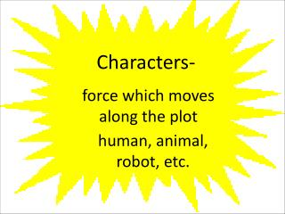 Characters-