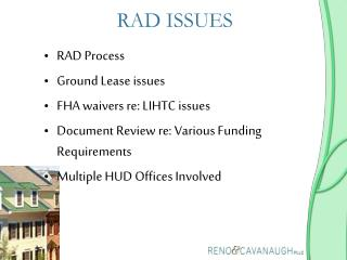 RAD ISSUES