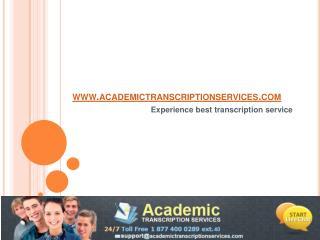 academictranscriptionservices