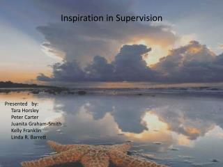 Inspiration in Supervision