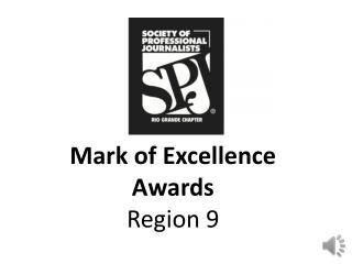 Mark of Excellence Awards Region 9