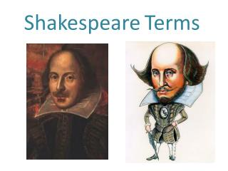 Shakespeare Terms