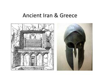 Ancient  Iran & Greece