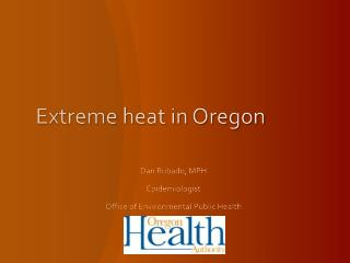 Extreme heat in Oregon