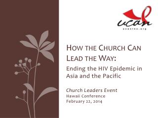 How the Church Can Lead the Way: