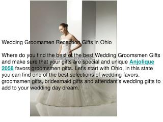 Wedding Groomsmen Reception Gifts in Ohio