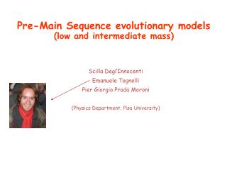 Pre-Main Sequence evolutionary models (low and intermediate mass)