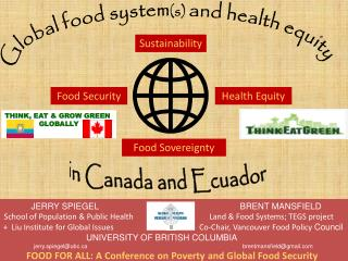 Global food  system (s)  and health  equity