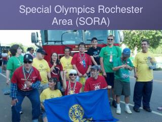 Special Olympics Rochester Area (SORA)