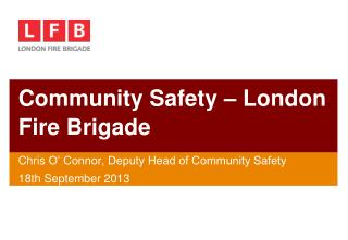 Community Safety – London Fire Brigade