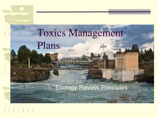 Toxics Management Plans