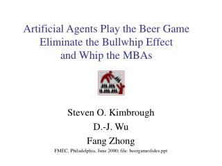 Artificial Agents Play the Beer Game Eliminate the Bullwhip Effect  and Whip the MBAs