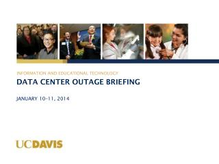 Data Center Outage BRIEFING