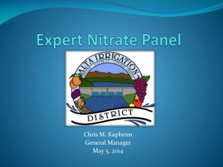 Expert Nitrate Panel