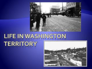 Life In Washington Territory