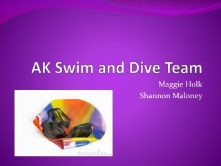 AK Swim and Dive Team