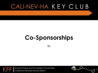 Co-Sponsorships