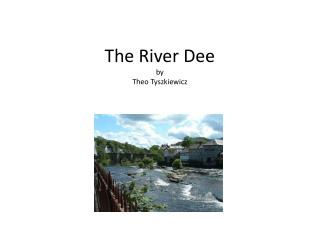The River Dee by Theo  Tyszkiewicz