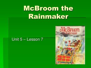 McBroom the Rainmaker