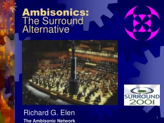Ambisonics: The Surround  Alternative