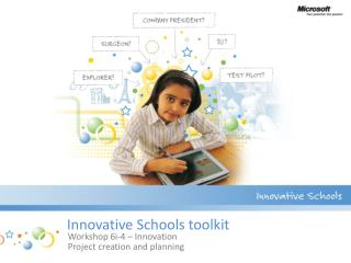 Innovative Schools toolkit