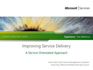 Improving Service Delivery