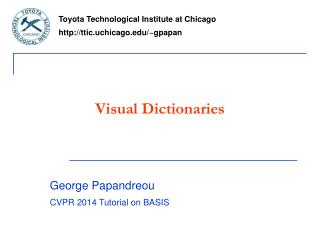 Visual Dictionaries