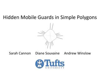 Hidden Mobile Guards in Simple Polygons