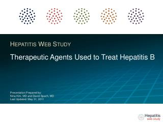 Therapeutic Agents  Used to Treat Hepatitis B