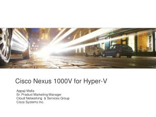 Cisco Nexus 1000V for Hyper-V