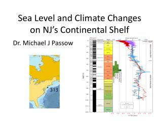 Sea Level and Climate Changes on NJ's Continental Shelf