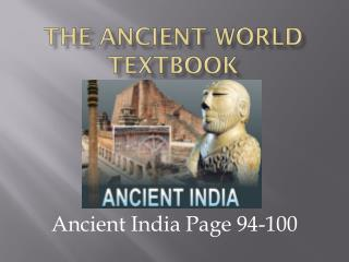 The Ancient World Textbook