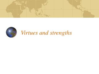 Virtues and strengths
